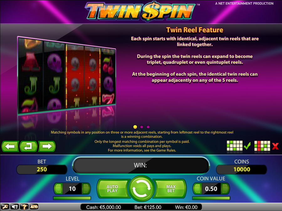 Twin spin online casino
